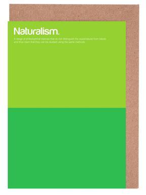 Naturalism Set de cartes de vœux