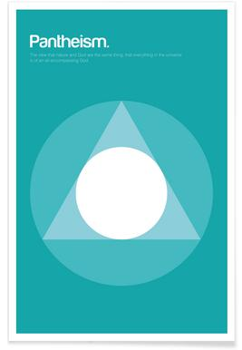 Pantheism - Minimalistic Definition Poster