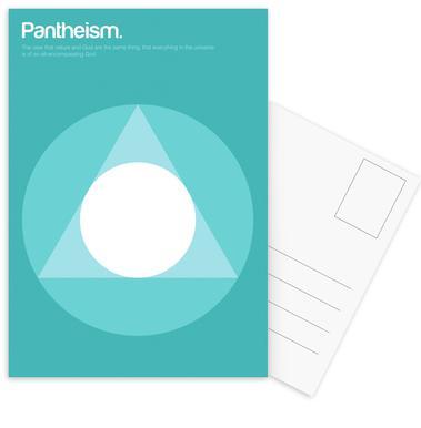 Pantheism -Postkartenset