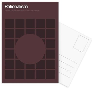 Rationalism -Postkartenset