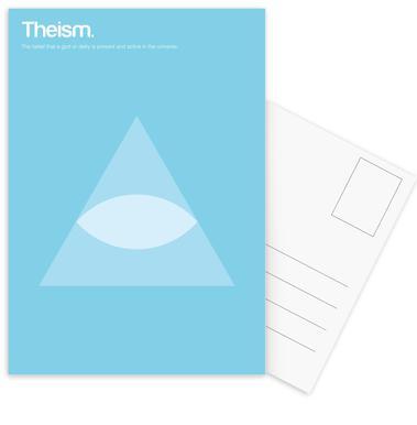 Theism Set de cartes postales