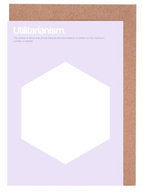 Utilitarianism cartes de vœux