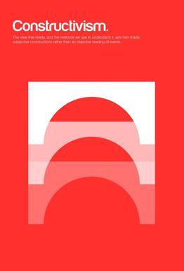 Constructivism acrylglas print