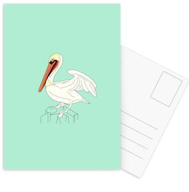 Pelikan Postcard Set