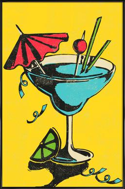 Cocktail Poster in Standard Frame