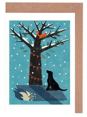 Dog Set de cartes de vœux