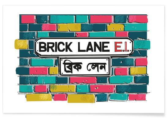 Brick Lane Affiche
