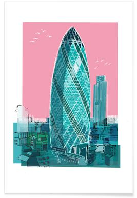 St. Mary Axe Affiche