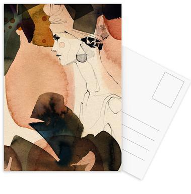 Mora -Postkartenset