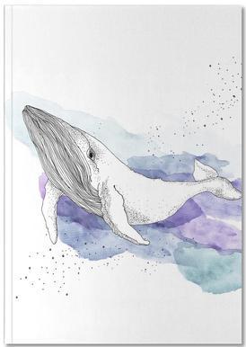 Whale Notizbuch