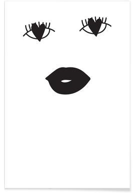 Heart Eyes Poster