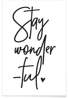 Stay Wonderful Poster