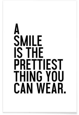 A Smile Is The Prettiest -Poster