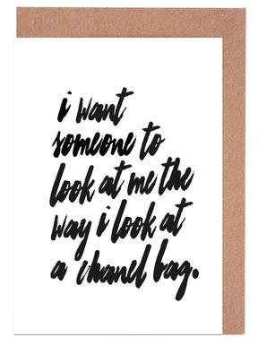 Chanel Bag Set de cartes de vœux