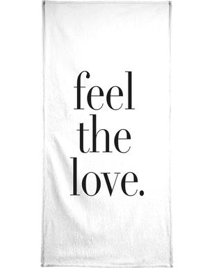 Feel The Love Bath Towel