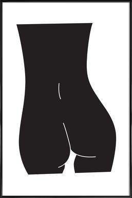 Spine Affiche sous cadre standard