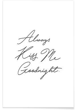 Always Kiss Me Goodnight -Poster