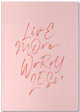 Live More Notizbuch