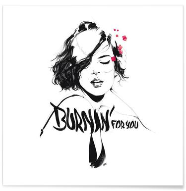 Burnin' For You Poster