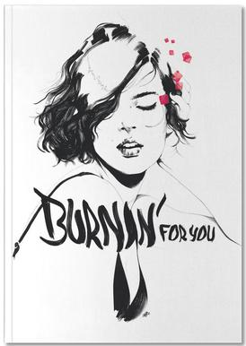 Burnin' For You Carnet de note
