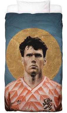 Football Icon - Marco van Basten Bed Linen