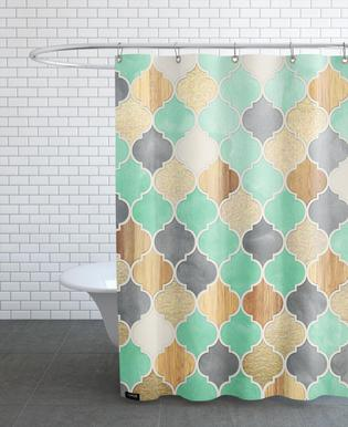 Textured Moroccan Pattern   Micklyn Le Feuvre   Shower Curtain