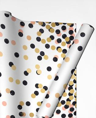 Polka Dots Papier cadeau