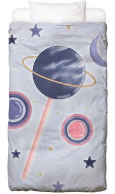 Lollipop Planet Bettwäsche