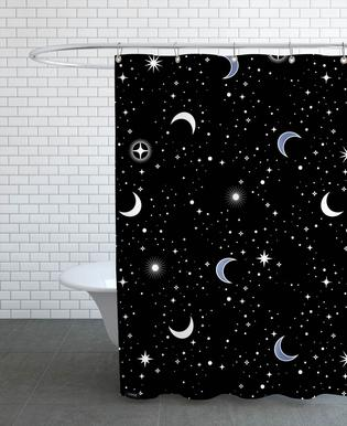 Stars Holiday -Duschvorhang