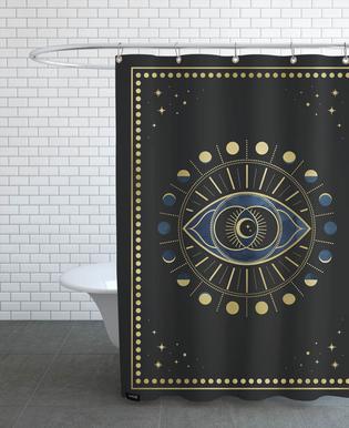 Vi Chakra Shower Curtain