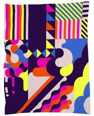 Candy Fleece Blanket