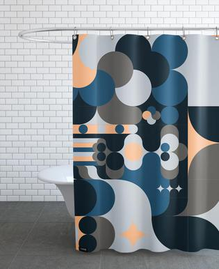 Cloud As Shower Curtain By Greg Mably