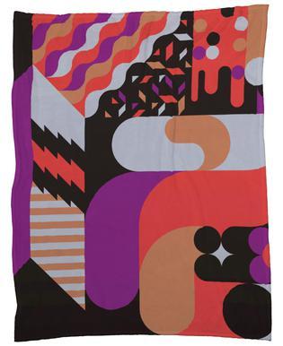 Note Fleece Blanket