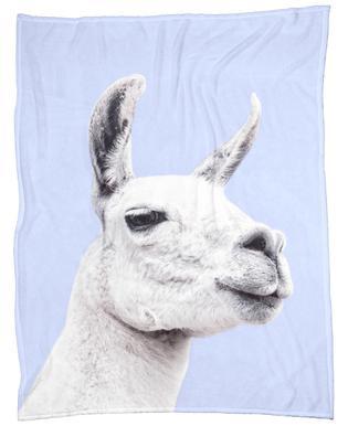 Blue Llama II plaid