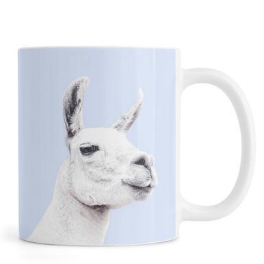 Blue Llama II mug