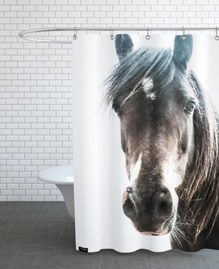 Horse rideau de douche