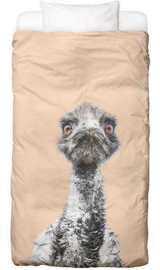 Orange Emu Linge de lit