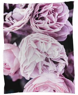 Pink flowers II plaid
