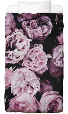Pink Flowers III Linge de lit