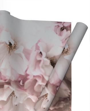 Pink Flowers Papier cadeau