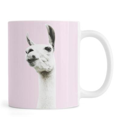Pink Llama mug
