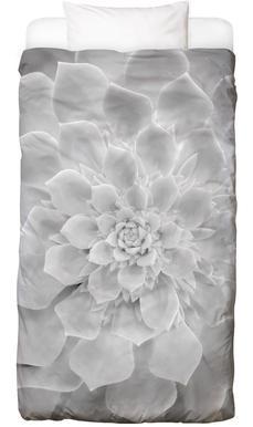 White Succulent Bed Linen