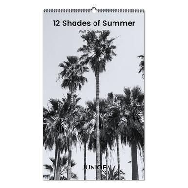 12 Shades of Summer 2019 Wall Calendar