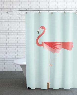 Flamingo Duschvorhang