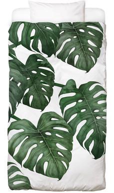 Blätter Pflanzen Bettwäsche Juniqe