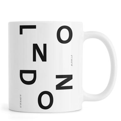 Cities - London Tasse