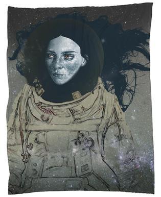 Astronaut 1 Fleece Blanket