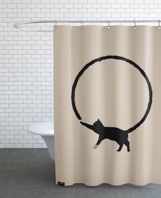 Cat Circle douchegordijn
