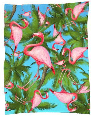 Summertime 1 Fleece Blanket