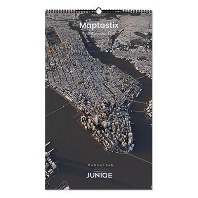 Maptastix 2019 Wall Calendar